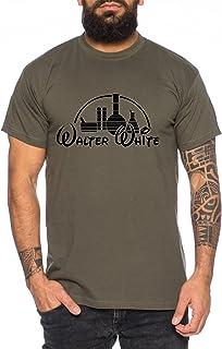 WhyKiki Camiseta de Hombre WW Walter Heisenberg Golden Moth Breaking Chemical Motte Bad Chemistry