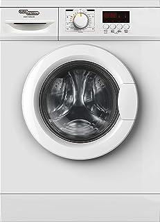 Super General 7 kg Front-Loader Washing-Machine 7100NLED/Freestanding/1200 RPM/LED Display/ESMA 5 Star/Energy-Saving/White/23 Programs