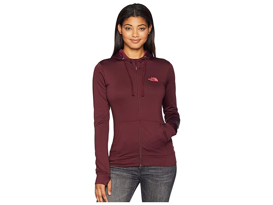 The North Face Fave Lite LFC Full Zip (Fig/Atomic Pink) Women