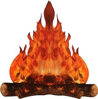3-D large decorative cardboard campfire centerpiece 14
