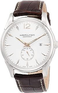Men's H38655515 Jazzmaster Slim White Dial Watch