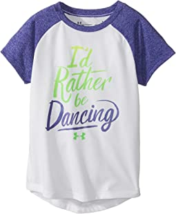 Under Armour Kids I'd Rather Be Dancing Short Sleeve Tee (Little Kids)