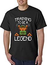 New Way 410 - Unisex T-Shirt Training to Be A Legend Zelda Link 8-Bit Gym Workout