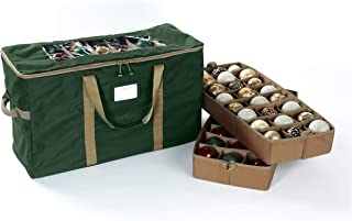 Covermates – 108PC Holiday Ornament Storage Bag – 3 Year Warranty - Green