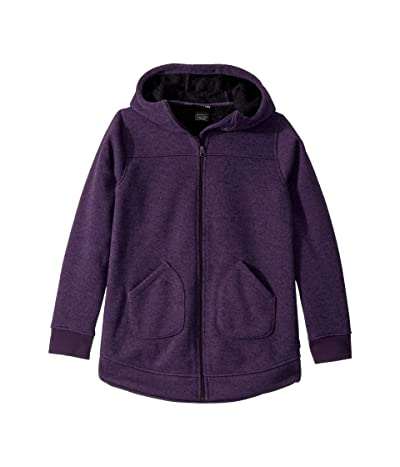 Burton Kids Minxy Full Zip Jacket (Little Kids/Big Kids) (Purple Velvet Heather) Girl