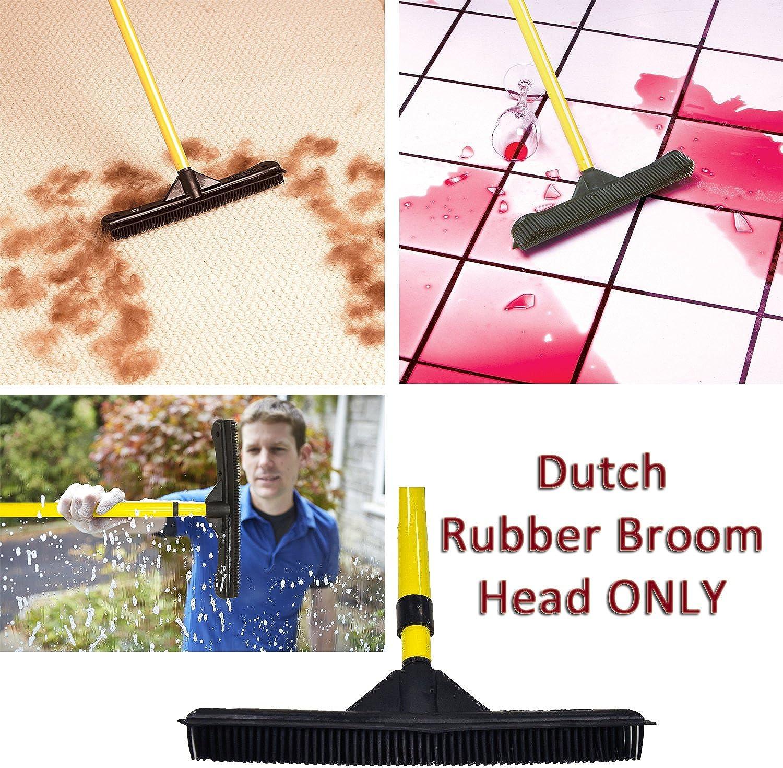 Dutch Gummi Besen 30,5 cm Kopf 30,5 cm Gummi Besen Kopf nur passt jeden Griff. B00BISKRQ0