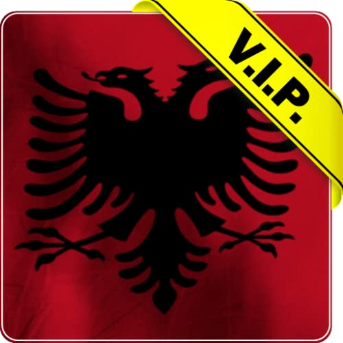 Albanien Flagge Leben Tapete