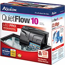 QuietFlow Aqueon 10 LED Pro Power Filter (Item #06080)