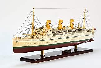 RMS Empress of Scotland Ocean Liner Wooden Ship Model 33