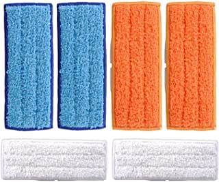 KEEPOW Almohadillas lavables de mopa para iRobot Braava Jet 240 241 Pack de 6