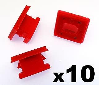 clips de fixation pour fixation dattache de doublure de pare-boue avant OE MR200300 20pcs Aramox Fixation de garde-boue