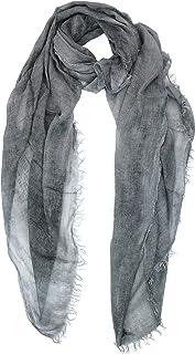 GIULIA BIONDI 100% Made in Italy Sciarpa Cashmere Stola Scialle Foulard Leggera Pashmina Unita Grande Donna Uomo