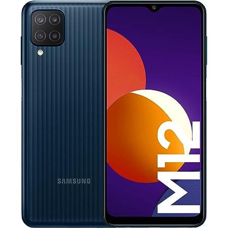 Samsung Galaxy M12 Smartphone Dual SIM Android Mobile Phone Black [Amazon Exclusive] (UK Version)