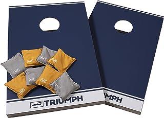 Triumph All-Weather Aluminum 2x3 Cornhole Set - Includes 2 Boards, 8 Cornhole Bags, and Travel Case