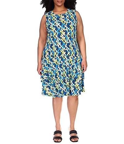 MICHAEL Michael Kors Plus Size Sixties Sleeveless Flounce Dress Women