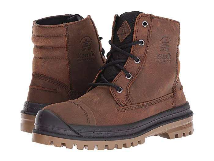 Kamik  Griffon (Cognac) Mens Lace-up Boots