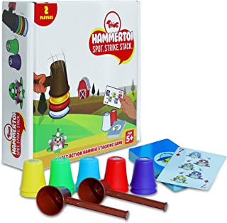 Toiing Hammertoi | Fast-paced Educational Learning Fun Game for Boys and Girls | Develops Observation Skills & Reflexes | ...