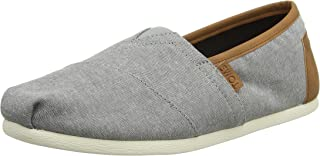 Men's Classic Canvas Slip-On, Frost Grey Chambray 2 - 8.5 D(M) US