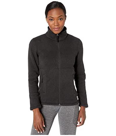 The North Face Crescent Full Zip (TNF Black Heather) Women