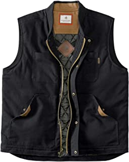 mens Conceal and Carry Canvas Crosstrail Vest