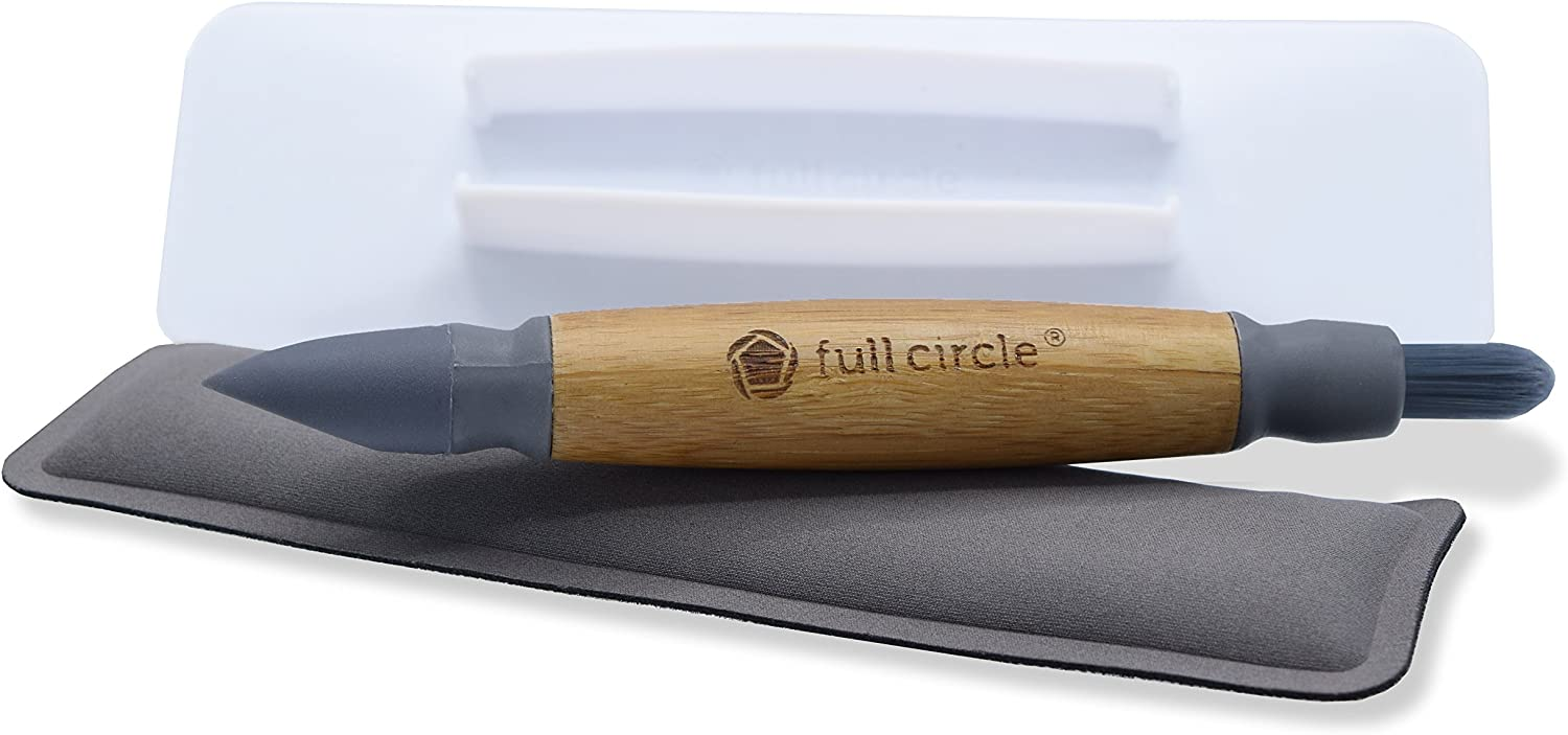 Full Circle Control Alt Clean 3-in-1 Electronics Cleaning Brush Set and Screen Wiper
