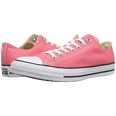 Converse Chuck Taylor All Star Seasonal Ox (Punch Coral) Athletic Shoes
