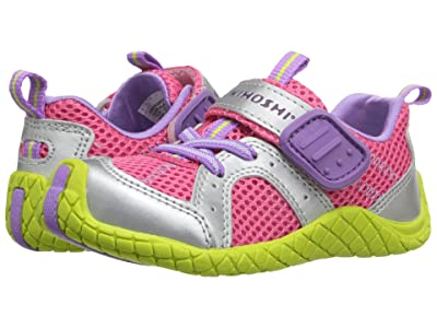 Tsukihoshi Kids Marina (Toddler/Little Kid) (Coral/Lime) Girls Shoes