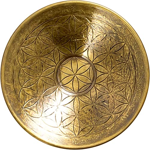2021 Brass new arrival Flower of Life Round discount Incense Holder for Incense Sticks and Cones online sale