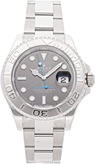 Rolex Yacht-Master Mechanical (Automatic) Rhodium Dial Mens Watch 116622 (Certified Pre-Owned)
