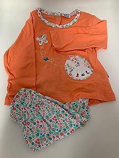 Yatsi 16109031- Conjunto dos piezas para Bebé, Recién Nacido. Color Albaricoque Talla 3 Meses
