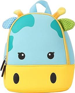 Mochila Infantil Kindergarten,Pequeñas Mochilas Bolsas Escolares de Dibujos Animados Animales para Niñas Primaria Linda Bolso Bebe Guarderia Preescolar para 2-6 Años (Jirafa)