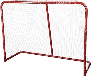 Franklin Sports Street Hockey Goal - Steel Street Hockey Net - All Weather Durable Outdoor Goal - 54