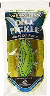 Van Holten's - Pickle-In-A-Pouch Jumbo Dill Pickles - 12 Pack