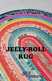 R.J. Designs RJD100 Jelly Roll Rug Pattern, Original Version