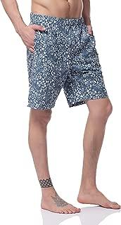 Pau1Hami1ton Men's Swim Trunks Quick Dry Beach Wear Shorts Mesh Pocket Swimwear Bathing Suits NBS-02