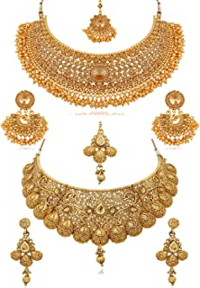 b74d588e20 Pearl Women's Jewellery Sets: Buy Pearl Women's Jewellery Sets ...