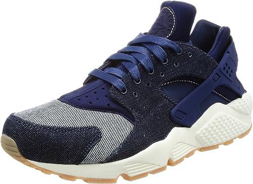Nike Air Huarache Run SE Wohommes FonctionneHommest chaussures Binary Binary bleu bleu   Muslin-Sail 859429-401 (7.5 B(M) US)  choisissez votre préférée