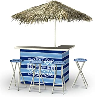 Best of Times Portable Deluxe Bar; Tommy Bahama - Palapa