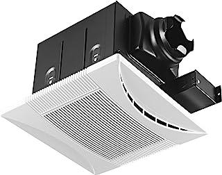 Tech Drive Super-Quiet 70 CFM, 0.3 Sone Bathroom Ventilation and Exhaust Fan (70CFM)