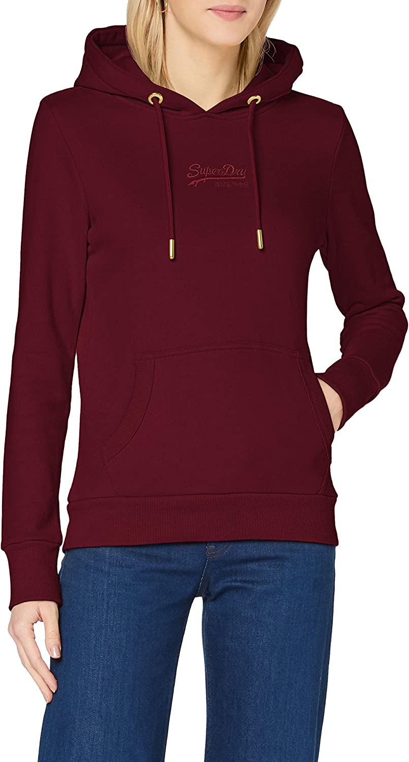 Superdry Vintage Logo Hoodie Tonal Baltimore Mall 1 year warranty Embroidered