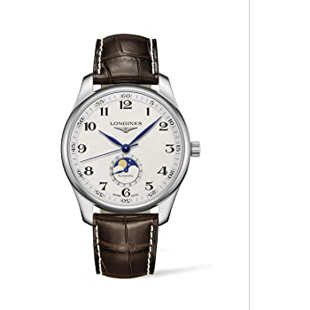 [ロンジン] 腕時計 ロンジン マスターコレクション 自動巻き ムーンフェイズ表示 L2.919.4.78.3 メンズ 正規輸入品