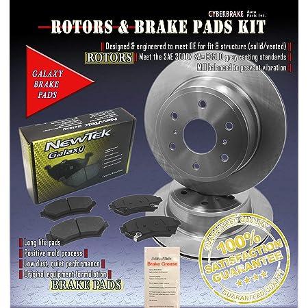 OE Series Rotors + Ceramic Pads Max Brakes Front Premium Brake Kit KT065141 Fits: 2003 03 2004 04 Suzuki Vitara