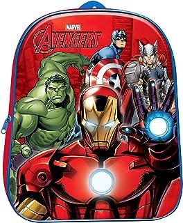 Avengers Mochila Infantil 3D 31cm Los Vengadores Marvel