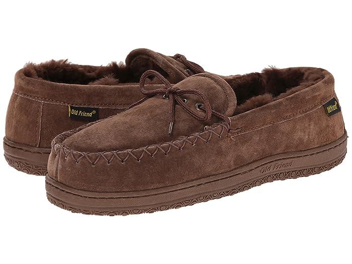 Old Friend  Loafer Moccasin (Dk.Brown) Mens Slippers