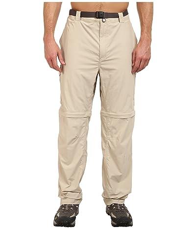 Columbia Big Tall Silver Ridge Convertible Pant (Fossil) Men