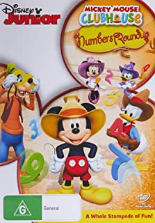 Mickey Mouse Clubhouse: Numbers Roundup (DVD)