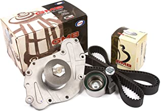 Evergreen TBK295LWP2 Fits 05-10 Chrysler Dodge Volkswagen 3.5L 4.0L SOHC Timing Belt Kit GMB Water Pump