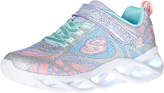 Skechers Kids' Girls Sport Footwear, S, Lighted Sneaker