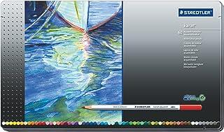 STAEDTLER Mars Plastic, Premium Quality Vinyl Eraser, White, Latex-free, Age-resistant, Minimal Crumbling (526 50 BK) (single pack) Staedtler Mars Lumograph Art Drawing Pencils, 12 Pack Graphite Pencils in Metal Case, Break-Resistant Bonded Lead, 100 G12 Staedtler 1270 C48A603ID Colored Pencil Staedtler Combo Circle Template 977 110 Staedtler Karat Aquarell Premium Watercolor Pencils, Set of 60 Colors (125M60)