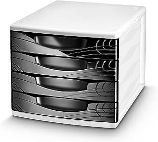 CEP Origins 4 Drawer Desktop Module - Black